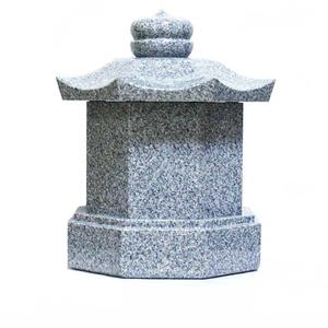 八角6寸(M)白御影石
