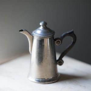 50s〜60s 木製ハンドル付きコーヒーポット (italy)