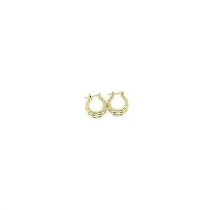 【GF-2-3】Gold Filled Mini Bamboo earring