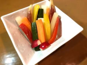 お野菜7種のピクルス