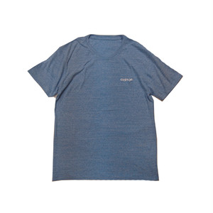 anitya - LOGO EMB T-SHIRT (Authentic Blue)