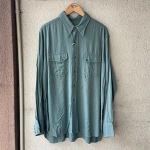 1940's McGREGOR Gabardine Shirt  Size・16-34