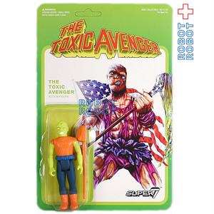 リ・アクション 悪魔の毒々モンスター The Toxic Avenger 3.75インチ アクションフィギュア コミックver