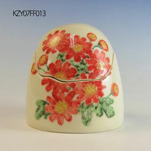 【アウトレット】陶器製ミニ骨壷あんのん(KZ013YE07FF)イメージ