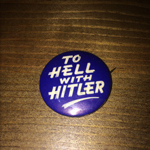 Vintage Can Badge 13