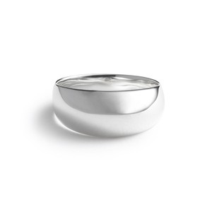 Volume silver ring