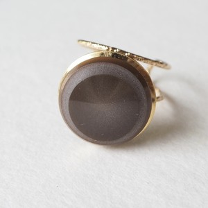 316.Vintage button ring