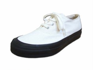 【レディース】 Asahi アサヒシューズ DECK デッキシューズ L011 MONOCHROME モノクロ キャンバス Shoes MadeinJAPAN 日本製 福岡 久留米