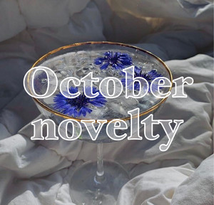 ❤︎ October novelty ❤︎