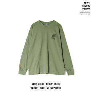 BASIC L/S T-SHIRT (MILITARY GREEN)