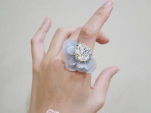 【リング.19】phantomFLOWER crystal