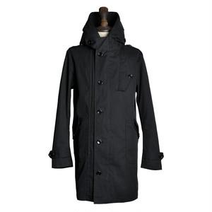C/N Cloth Military Mountain Coat Black