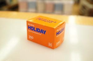 【カラーネガフィルム 35mm】HILLVALE(ヒルヴェール) HOLIDAY 36枚撮り