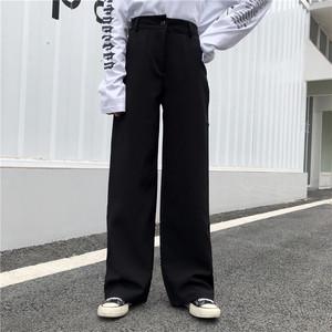 【ボトムス】カジュアルファションハイウエストカジュアルパンツ21143875