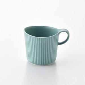 線彫 紺 マグカップ大
