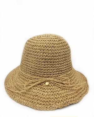 fini.straw hat-natural