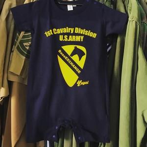 BXオリジナル 第一騎兵師団 1st cav ロンパース 80cm