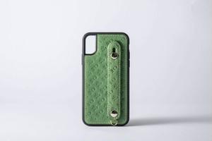 高知のiPhoneケース(本革) グリーン(7/8、X/XS) 一週間以内での発送予定