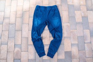 one star sweat pants / indigo