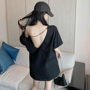【トップス】セクシーカジュアルレディースTシャツ30927515