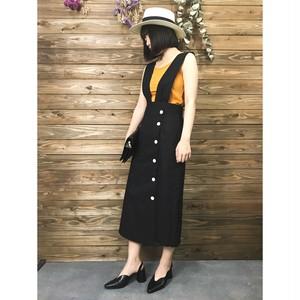 【SALE】タイトジャンパースカート【&mode】