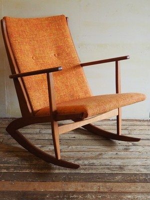 Danish rocking chair by Soren Georg Jensen