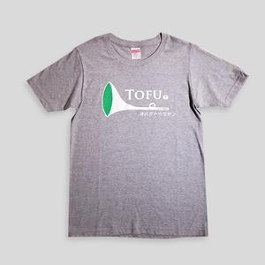 TOFUラッパTシャツgray