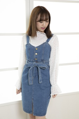 Denim One-Piece