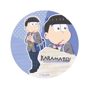 【4589839342391】えいがのおそ松さん/【描き下ろし】カラ松缶バッジ