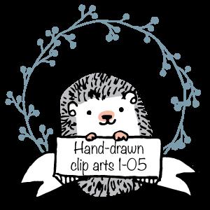 Hand-drawn circle clip arts 1-05