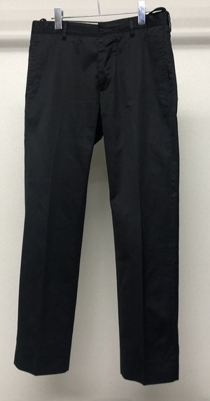 2000s HELMUT LANG COTTON SATIN TROUSERS