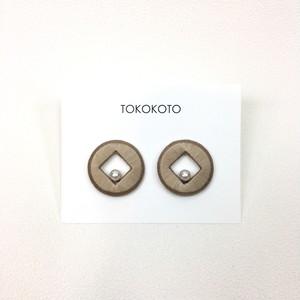 【TOKOKOTO】サークル one ピアス