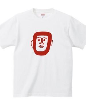 世界平和Tシャツ ホワイト/レッド