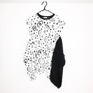 E/G KNIT DRAPE DRESS