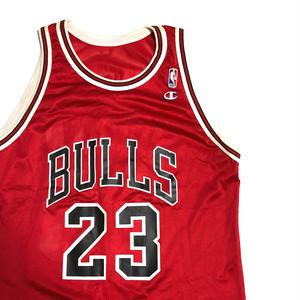 90's USA製 Champion BULLS JORDAN バスケ タンクトップ