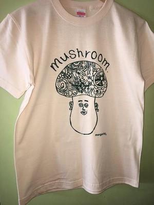 ■Mr.mushroom ■マッシュルームTシャツ★キモカワキャラT