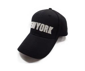 CITYワッペンローキャップ[H-040 BLACK]