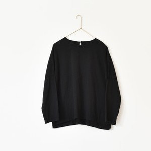 CREW NECK LONG SLEEVE SHIRT[OUI]