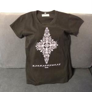 【海外土産】ビーズTシャツ10黒(タイ)◆送料無料