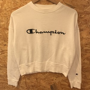 Champion × E hyphen world gallery (スウェット クロップド)