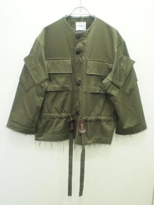 TAKAHIROMIYASHITATheSoloist. cutoff mods coat. / sj.0017