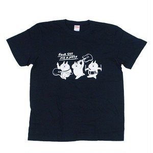 """Crazy cats"" T-shirt Dark Navy"