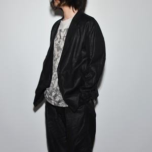 Leather linen - Tailored Jacket
