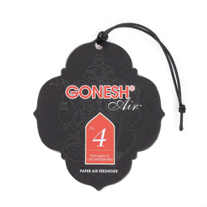GONESH - Paper Air Freshner (No.4) エアフレッシュナー