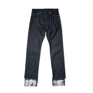 MY OLD DENIM TROUSERS BLK -kudos-
