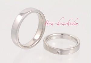 【カープ優勝記念SALE】鍛造製法で作る結婚指輪 平打ちリング