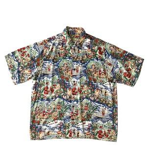 USEDアロハシャツ レインスプーナー MELEKALIKIMAKA size M