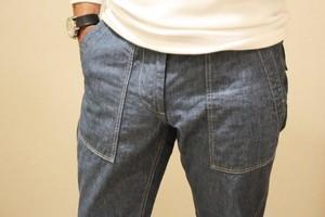 FOB FACTORY Chambray Baker Pants