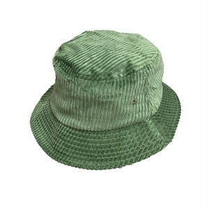 EN PLEIN AIR / WIDE WALE CORDUROY BUCKET HAT -SAGE GREEN-