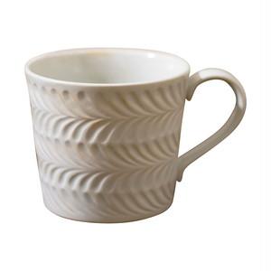 波佐見焼 翔芳窯 ローズマリー マグカップ 350ml マットホワイト 33409